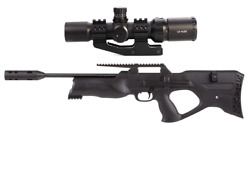 Walther Reign Uxt Pcp Bullpup Air Rifle .22 Cal W/ 1-4x20 Tactical Riflescope