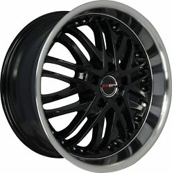 4 G23 20 Inch Black Rims Fits Jeep Grand Cherokee Limited 2014-2019