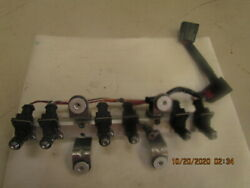 2003 Mercury 200hp Fuel Rail With Injectors And Harness