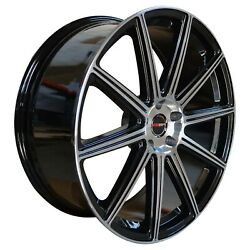 4 G42 20 Inch Black Rims Fits Jeep Grand Cherokee Limited 2014-2019