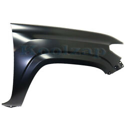Capa For 16-20 Tacoma Front Fender W/o Wheel Opening Molding Holes Right Side