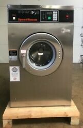 Used Speed Queen 3ph Sc20b2 20lb On-premise Laundry Commercial Washer