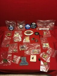 28 Vtg Nos Ford Pin Louisville Ky Truck Plant Button Advertisement Uaw Keychain