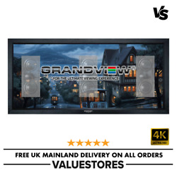 Grandview 130 Inch Fixed Frame Acoustic Projector Screen For Home Cinema 2.351
