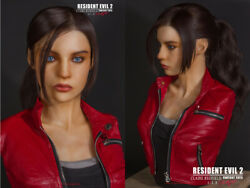 Fantasytoys Resident Evil Claire Redfield 1/1.5 Limited Bust Statue Pre-order