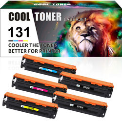 Compatible For Hp Cf210a 131a Toner Laserjet Pro 200 Color Mfp M276nw M251nw