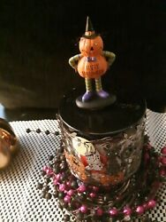 CANDLE Lid Magnet topper pumpkin figurine for Bath amp; Body Works 3 wick large