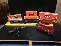 Lot Of 5 Lionel Train Items 6019 6257 6465 6456 6462 All Orignal With Boxes