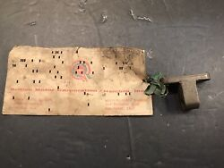 Mg Td Nos Clutch Cable Ajustment Bracket Early Td