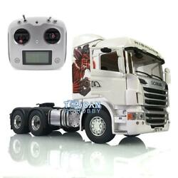 1/14 Rc Lesu Rc Metal 64 Chassis Sound Scania R730 Gripen Tractor Truck Radio