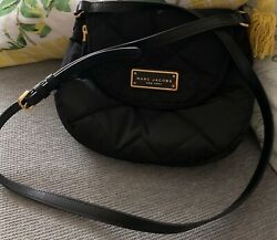 Marc Jacobs Quilted Nylon Crossbody Black M0011379 NWT $180 Retail $75.00