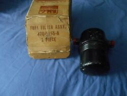 1957 Ford And Thunderbird 2x4 Dual Quad And Supercharged 312 Nos Fuel Filter Assy