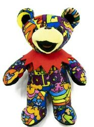 Grateful Dead Exclusive Bean Bear Anthem Of The Sun Plush Doll Stuffed Toy New
