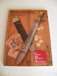 Antique Bowie Knife Littman Collection Book Catalog Vintage Randall Knives