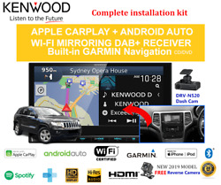 Kenwood Dnx9190dabs For Jeep Grand Cherokee 2012-2013 Wk Car Stereo Upgrade