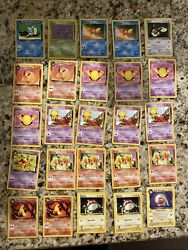 Team Rocket Pokemon Card Lot 124 Cards Near Mint Rare Trainer Cards And More
