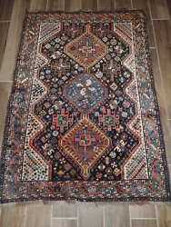 3x5ft. Antique Middle Eastern Wool Rug