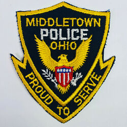 Middletown Police Ohio Patch A1-b