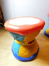 Lrnleap Frog Learn And Groove Alphabet Drum English Spanish Music Sounds Lights
