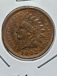 1902 One Cent Indian Head Penny