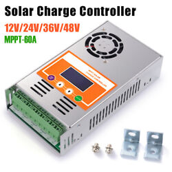60a Mppt Solar Charge Controller For Dc 12v-48v Battery Regulator Pv 160v Ld2482