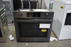Samsung Nv51m9770sm 30 Black Stainless Single Electric Wall Oven Nob 52221 Mad