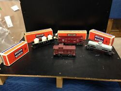 Lot Of 4 Lionel Train Items 6035 6037 6456 And 6112-1 All Orignal With Boxes