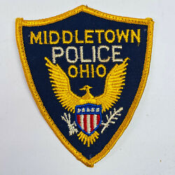 Middletown Police Ohio Patch A2-c