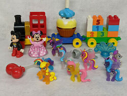 Lego Duplo Mickey Mouse Clubhouse - Item 10597 Birthday Parade+ 9 Little Pony