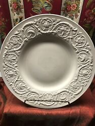 """Wedgwood China Patrician Pattern. Dinner Plate 10 1/2"""" Oniy One Available"""