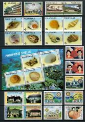 Rp05 Philippines - 2005 Complete Year Stamp Sets With Souvenir Sheets. Muh
