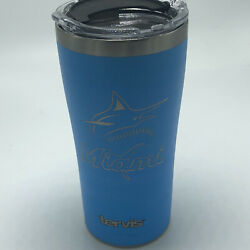 Mlb Blue Stainless Steel Miami Marlins Tervis Tumbler 20 Oz New