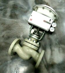 New Flowserve 252a Actuated Control Valve 2 Logix 500md 520md-02-w1dee-0000-gm2