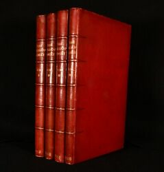 1928 4vol The Wallop Family And Their Ancestry Illustrated Fine Binding Signed