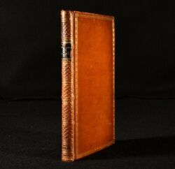 1801 The Enchanted Plants Fables In Verse 2nd Ed Scarce Fore-edge Painting E...