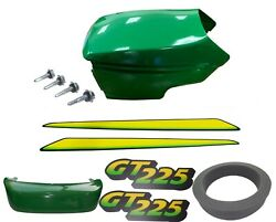 New Upper And Lower Hood/bumper/lhandrh Stickers Fits John Deere Gt225 Low S/n