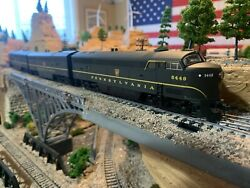 Ho Scale Proto 1000 C-liner Pennsylvania Prr A-b-a Diesel Locomotive Powered
