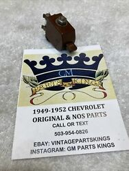 Nos 1930's 1940's 1950's Chevrolet Accessory Under Dash Def Defrost Switch Bomb
