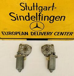 Window Motor New Genuine Rare 0130821020 Left And Right Mercedes Benz 560 Sl R 107
