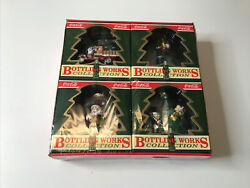 """Vintage X-mas """"brand New"""" 1994 Coca-cola Ornaments Bottling Works Collection"""