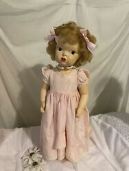 Terri Lee Very Early Painted Patent Pending Mannequin Hair 16 Doll