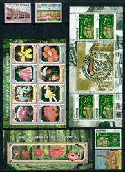 Rp07 Philippines - 2007 Complete Year Stamp Sets With Souvenir Sheets. Muh