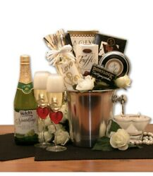 Deluxe Romantic Evening For Two Gift Basket $85.00