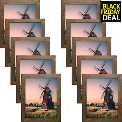 Golden State Art Wall Picture Frame - Sawtooth Hangers Swivel Tabs Real Glass...