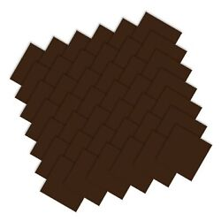 Moda Bella Solids Brown 9900pp-71 Charm Pack 5 Quilt Squares