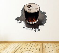 Cup Soda Ice Wall Decals Stickers Mural Home Decor For Bedroom Art Js880