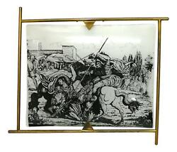 Lamp Wall Glass Convex Design Fornasetti - Style Years 50