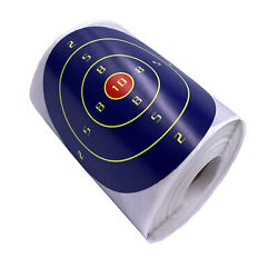 200pcs/roll 4inch Self Adhesive Paper Reactive Splatter Shooting Target Stickers