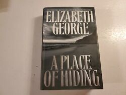 A Place Of Hiding By George Elizabeth -hbdj 2003 First Edition B71