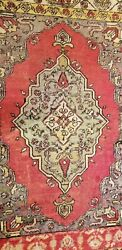 Rare Antique 1930-1940's Wool Pile Mucur Collector Rug 3'4 × 5'
